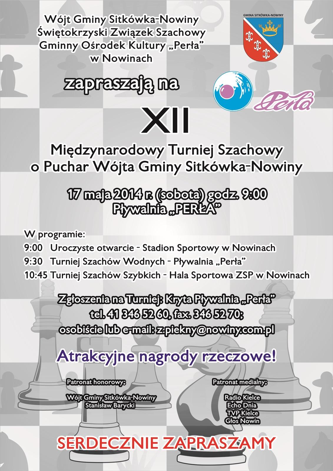 plakat szachy FB